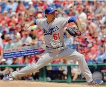 Josh Beckett No Hitter May 25, 2014 Citizens Bank Park LA Dodgers SATIN 8x10 Photo