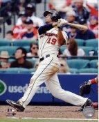 Andrelton Simmons Atlanta Braves SATIN 8X10 Photo