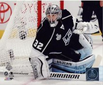 Jonathan Quick Stanley Cup Finals 2014 Game 1 Los Angeles Kings SATIN 8x10 Photo