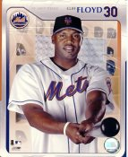 Cliff Floyd Studio NY Mets LIMITED STOCK 8X10 Photo