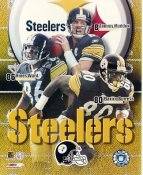 Tommy Maddox, Plaxico Burress, Hines Ward LIMITED STOCK Pittsburgh Steelers 8x10 Photo