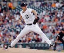 Max Scherzer Detroit Tigers SATIN 8X10 Photo