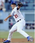 Zack Greinke LA Dodgers SATIN 8X10 Photo