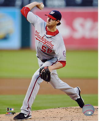 Doug Fister Washington Nationals SATIN 8X10 Photo