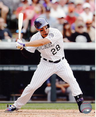 Nolan Arenado Colorado Rockies SATIN 8X10 Photo