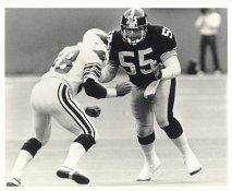 Dirt Winston LIMITED STOCK Pittsburgh Steelers 8x10 Photo