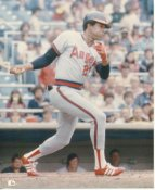 Rod Carew LIMITED STOCK California Angels 8X10 Photo
