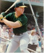 Mark McGwire Oakland Athletics 8X10 Photo LIMITED STOCK