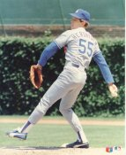 Orel Hershiser LIMITED STOCK Glossy Card Stock LA Dodgers 8X10 Photo