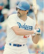 Kirk Gibson LIMITED STOCK Glossy Card Stock LA Dodgers 8X10 Photo