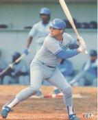 Mike Scioscia LIMITED STOCK Glossy Card Stock LA Dodgers 8X10 Photo