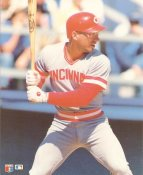 Chris Sabo LIMITED STOCK Glossy Card Stock Cincinnati Reds 8X10 Photo