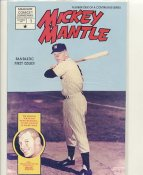 Mickey Mantle New York Yankees 1991 Magnum Comic Book Comes in Sealed Bag with Mantle & Sibby Sisti Card