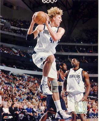 Dirk Nowitzki LIMITED STOCK Dallas Mavericks 8X10 Photo