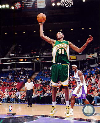 Kevin Durant Seattle Sonics LIMITED STOCK 8X10 Photo