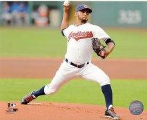 Danny Salazar Cleveland Indians SATIN 8X10 Photo