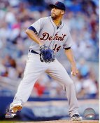 David Price Detroit Tigers SATIN 8X10 Photo