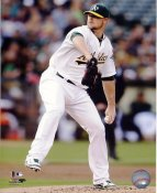 Jon Lester Oakland Athletics SATIN 8x10 Photo