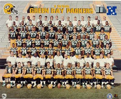 Packers 1996 Green Bay Team LIMITED STOCK 8X10 Photo