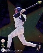 Derek Jeter LIMITED STOCK Premier Sports Card Rookie Of The Year New York Yankees 8X10 Photo