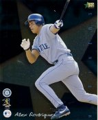 Alex Rodriguez LIMITED STOCK Premier Sports Card Seattle Mariners 8X10 Photo