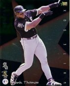 Frank Thomas SUPER SALE Premier Sports Card Corner Creases Chicago White Sox 8X10 Photo