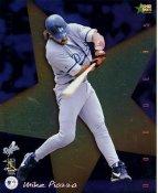 Mike Piazza SUPER SALE Premier Sports Card Corner Creases LA Dodgers 8X10 Photo