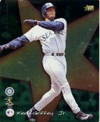 Ken Griffey Jr. SUPER SALE Premier Sports Card Corner Creases Seattle Mariners 8X10 Photo