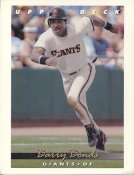 Barry Bonds Upper Deck Jumbo Card With Stats On The Back LIMITED EDITION - LIMITED STOCK Slight Corner Crease San Francisco Giants 8.5X11 Photo