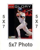 Nomar Garciaparra 5x7 Upper Deck Card 1998 SUPER SALE Boston Red Sox 5x7 Photo