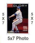 Roger Clemens 5x7 Upper Deck Card 1998 SUPER SALE Toronto Blue Jays 5x7 Photo