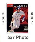 Larry Walker 5x7 Upper Deck Card 1998 SUPER SALE Colorado Rockies 5x7 Photo
