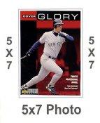 Tino Martinez 5x7 Upper Deck Card 1998 SUPER SALE New York Yankees 5x7 Photo