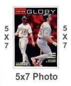 Mark McGwire 5x7 Upper Deck Card 1998 SUPER SALE St. Louis Cardinals 5x7 Photo
