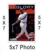Ken Griffey Jr. 5x7 Upper Deck Card 1998 SUPER SALE Seattle Mariners 5x7 Photo