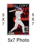 Mike Piazza 5x7 Upper Deck Card 1998 SUPER SALE LA Dodgers 5x7 Photo