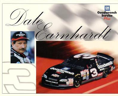 Dale Earnhardt Sr. SUPER SALE Slight Corner Crease 8X10 Photo
