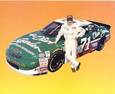 Dave Marcis SUPER SALE Slight Corner Crease 8x10 Photo