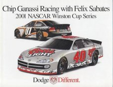 Chip Ganassi - Ganassi Racing with Felix Sabates LIMITED STOCK Opens Up With More Pictures 8.5x11 Photo