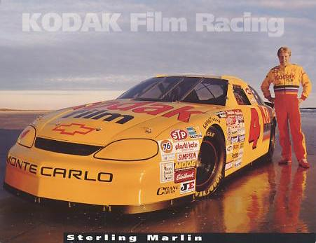 Sterling Marlin SUPER SALE Slight Crease 8.5x11 Photo