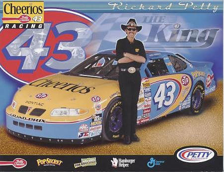 Richard Petty LIMITED STOCK 8.5x11 Photo