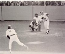 Bucky Dent 1978 Playoff Home Run Swing New York Yankees LIMITED STOCK 8X10 Photo