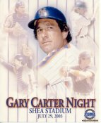 Gary Carter LIMITED STOCK New York Mets 8X10 Photo