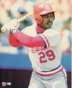 Vince Coleman LIMITED STOCK Glossy Card Stock St. Louis Cardinals 8X10 Photo