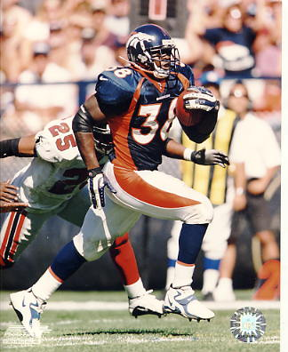 Mike Anderson Denver Broncos SUPER SALE 8X10 Photo