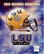 LSU A1 Tigers Team Helmet Photo 2003 National Chamions 8x10 Photo LIMITED STOCK