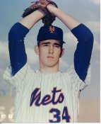 Nolan Ryan LIMITED STOCK New York Mets 8X10 Photo