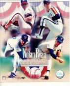 Nolan Ryan Hall Of Fame LIMITED STOCK 8X10 Photo