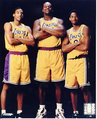 Shaq O'Neal, Kobe Bryant LIMITED STOCK Los Angeles Lakers 8x10 Photo