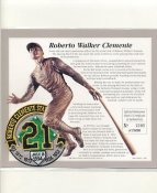 Roberto Clemente Statue Dedication Patch July 8, 1994 Pittsburgh Pirates LIMITED STOCK -